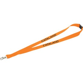Imprinted Lanyard with Lobster Clip