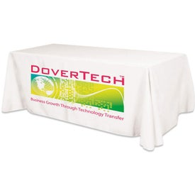 Large Ad Table Cover Fits 8 Foot Table (Flat 3 Sided)