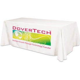 Large Ad Table Cover Fits 8 Foot Table (Flat 4 Sided)
