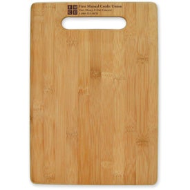 Imprinted Large Bamboo Cutting Board