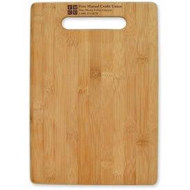 Imprinted Large Bamboo Cutting Board