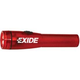 Branded Large Flashlight