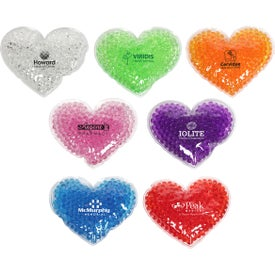 Large Heart Gel Hot and Cold Packs
