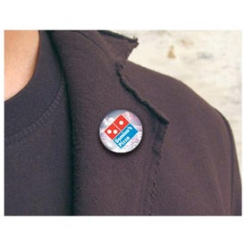 Large Magnetic Pin with Your Logo