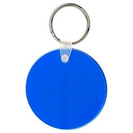Large Round Soft Key Tag for Customization