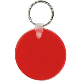 Promotional Large Round Soft Key Tag