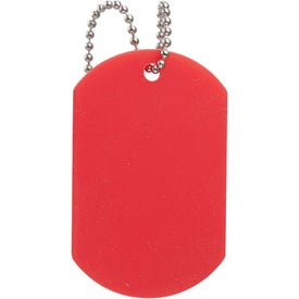 Logo Large Silicone Dog Tag