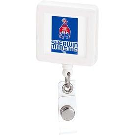 Large Square Badge Holder