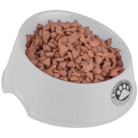 "Larger Dog Bowl 9"" for Customization"