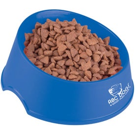 "Larger Dog Bowl 9"" for Marketing"