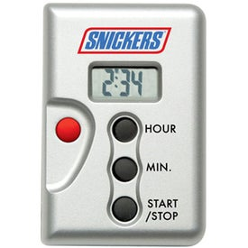 Laser Pointer Clock And Timer for Advertising