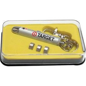 Advertising Laser Pointer Keychain