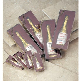 Customized Laurent Chocolate Champagne Bottle