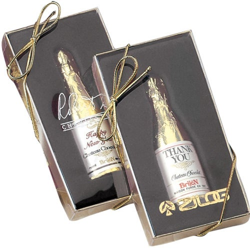 Laurent Chocolate Champagne Bottle