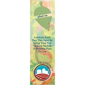 Leaf Seed Shape Bookmark