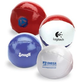 Leatherette Balls Imprinted with Your Logo