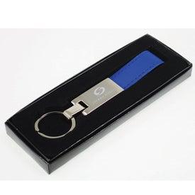 Advertising Leatherette Key Strap