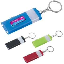 Personalized LED Camping Light And Key Ring