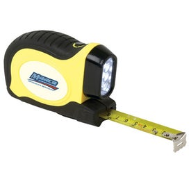 LED Flashlight Tape Measure