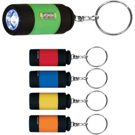 Mini-Might LED Key Chain (Digitally Printed)