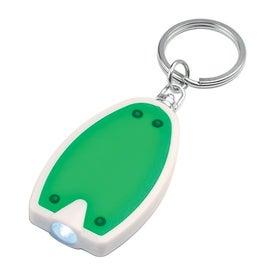 Custom Plastic LED Key Chain