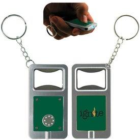 LED Keytag w/Bottle Opener for Promotion