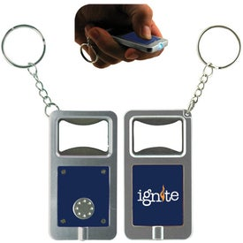 LED Keytag w/Bottle Opener for Your Organization