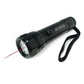 LED Light with Laser Beam