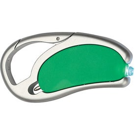 LED Light With Pen And Carabiner Imprinted with Your Logo