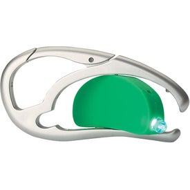LED Light With Pen And Carabiner Giveaways