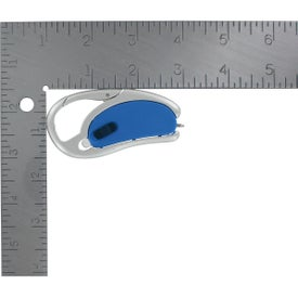 Advertising LED Light With Pen And Carabiner