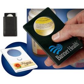 LED Magnifier Card