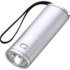 Monogrammed LED Rotating Flashlight
