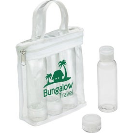 Personalized Legal Limits Travel Bottle Set