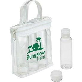 Personalized Legal Limits Travel Bottle Set
