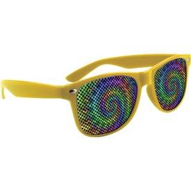 LensTek Miami Sunglasses with Your Slogan