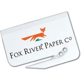 """Letter Opener + 3"""" Ruler (White)"""