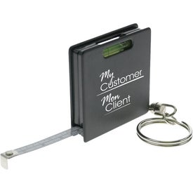 Printed Level-n-Measure Keychain