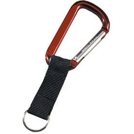 Promotional Lewis Carabiner with Compass