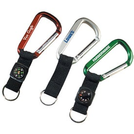 Lewis Carabiner with Compass