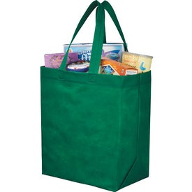 Branded Liberty Heat Seal Grocery Tote