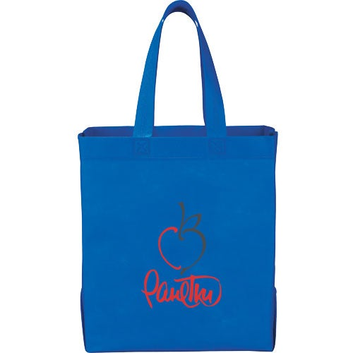 Royal Blue Liberty Heat Seal Grocery Tote Bag