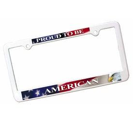 License Plate Frame (Four Hole)