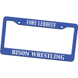 Auto License Plate Frames with Your Slogan