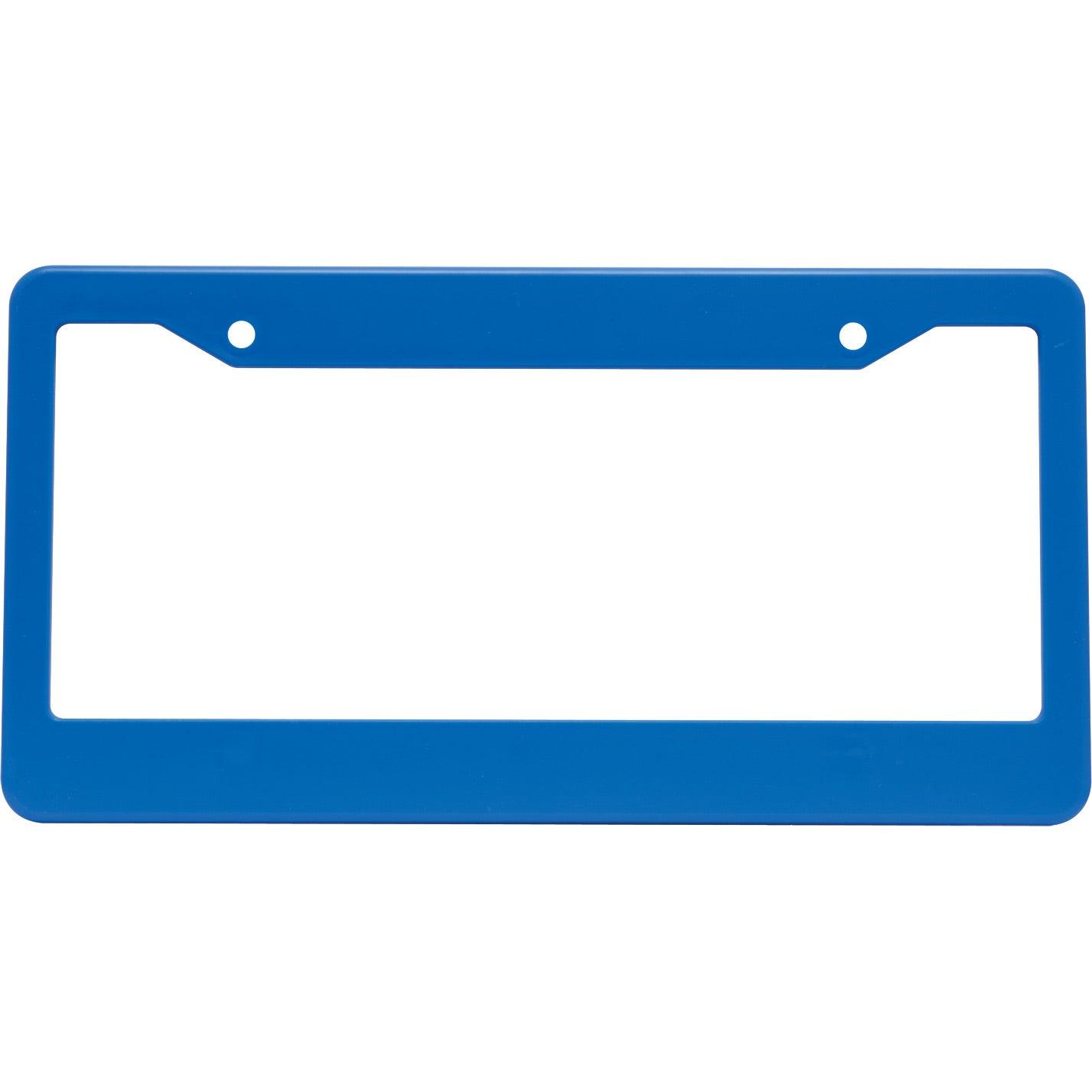 Blank license plate template printable