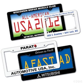 Durable License Plate Frame