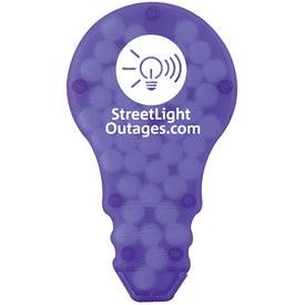 Personalized Light Bulb Mint Case