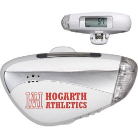 Promotional Light N' Sound Pedometer