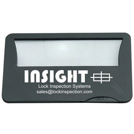 Light Up Credit Card Magnifier for Customization