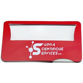 Light Up Credit Card Magnifier Branded with Your Logo
